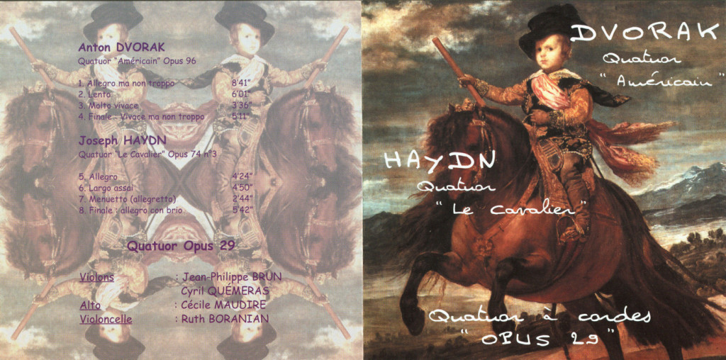 Jaquette CD Opus 29 [1999]